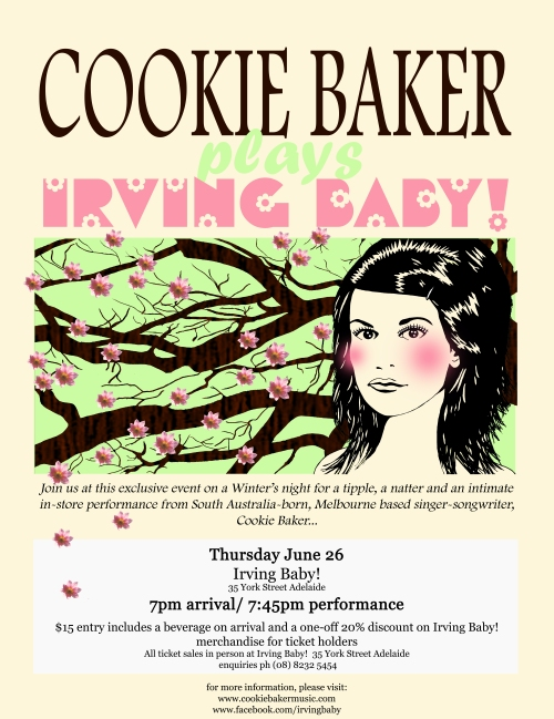 Cookie Baker / Irving Baby!
